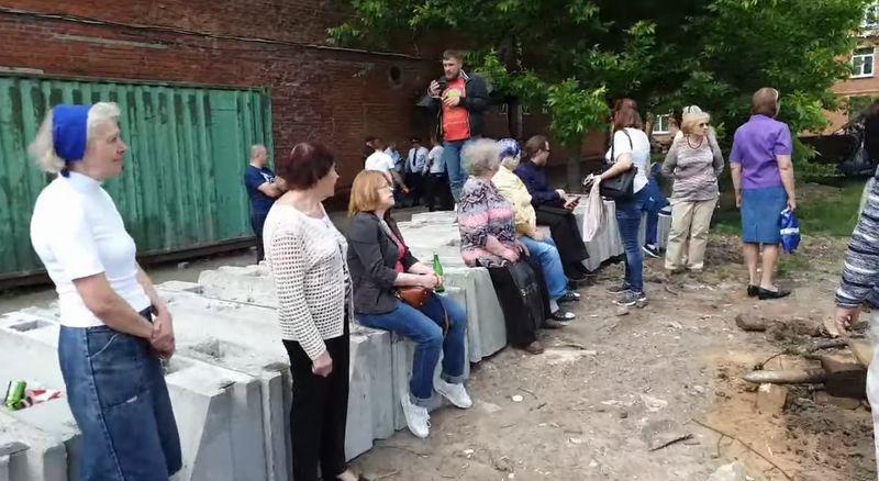Большая Очаковская 35А реновация точечная застройка